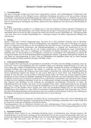 Allgemeine Verkaufs- und Lieferbedingungen - Frankstahl