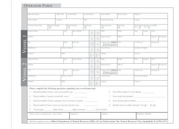Accident Reporting Form - USCG Office of Boating Safety