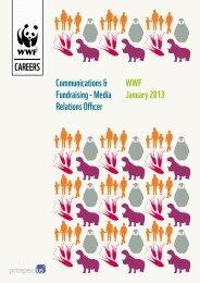 Communications & Fundraising - Media Relations Officer ... - WWF UK
