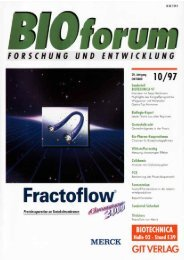 BIOforum 10/1997 - BERNER International GmbH
