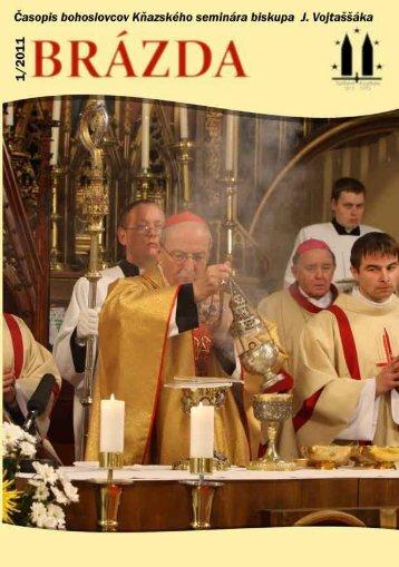 2011/1 - Kňazský seminár biskupa Jána Vojtaššáka