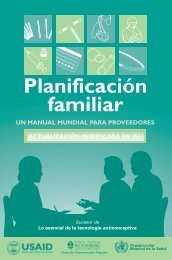 Planificación familiar - Family Planning: A Global Handbook for ...