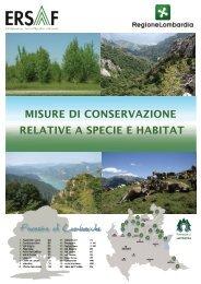 misure di conservazione relative a specie e habitat - Centro Studi ...