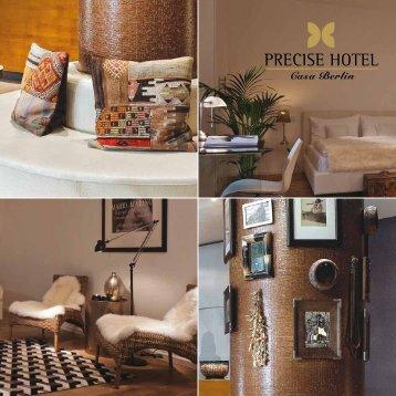 Broschüre herunterladen - The Precise Hotel Collection