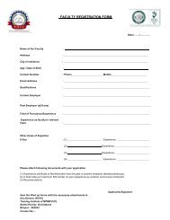 FACULTY REGISTRATION FORM - Mpcz.co.in