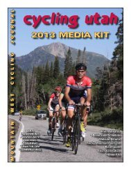 Download a current media kit - Cycling Utah
