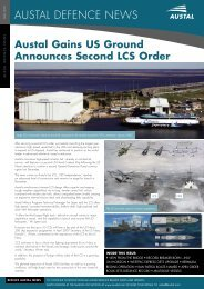 Austal Defence News - May 2007 - Austal Ships