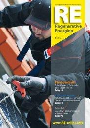 Zur PDF-Version der aktuellen Ausgabe… - RE Regenerative ...