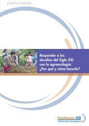 Responder a los desafíos del Siglo XXI con la agroecología - aGter