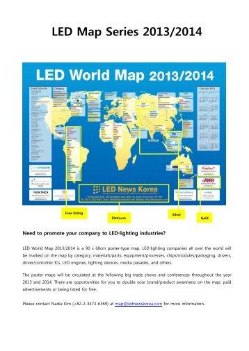 LED Map Series 2013/2014 - Display Plus
