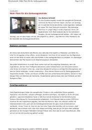 Mehr Platz für die Andreasgemeinde Page 1 of 2 Druckansicht ...