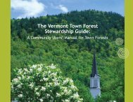 The Vermont Town Forest Stewardship Guide: - Communities ...