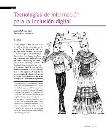 Tecnologías de información para la inclusión digital - Fundación del ...