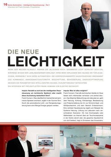 Die neue Leichtigkeit - Elektro Beckhoff Verl