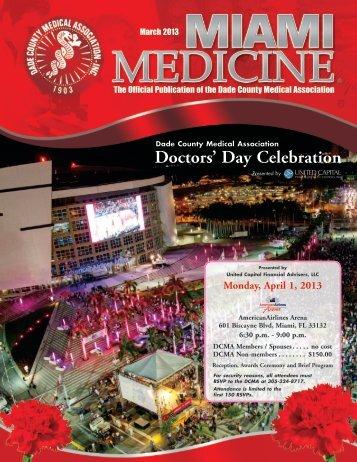 Doctors' Day Celebration - Dade County Medical Association