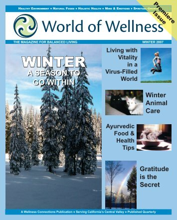 a season to go within - World of Wellness magazine promotes ...