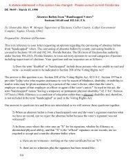 DE 90-09 - Florida Division of Elections