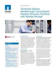 NetApp Success Story - Terremark Delivers Breakthrough Cloud ...