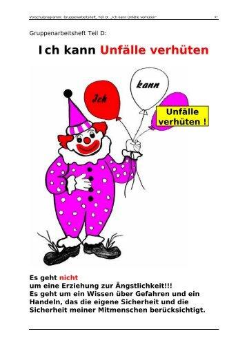 Ich kann Unfälle verhüten - JRK Karlsruhe