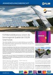 FLIR SC660 und FLIR T-Serie für Inspektionen