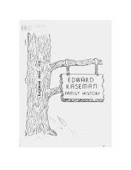 Edward Kaseman Family History