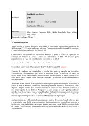 nº 85 - Biblioteca/Centro de Informação e Referência em Saúde ...