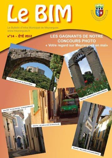 n°14 - ÉTÉ 2012 LES GAGNANTS DE NOTRE CONCOURS PHOTO