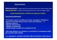 Lezione aterosclerosi e infarto - Cuorediverona.it