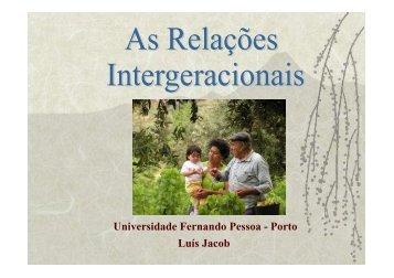 Universidade Fernando Pessoa - Porto Luís Jacob - Socialgest