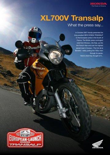 XL700V Transalp - Doble Motorcycles
