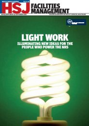 Facilities Management: Light work - Health Service Journal