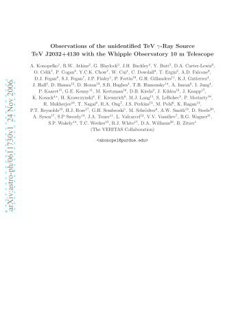 Observations of the Unidentified TeV Gamma-Ray Source TeV ...