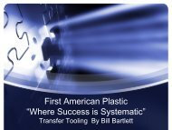 "First American Plastic ""Where Success is Systematic"" - MAPP"