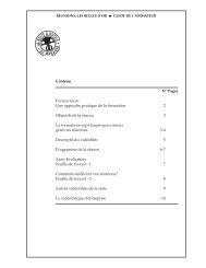 Réunions - Formavision France