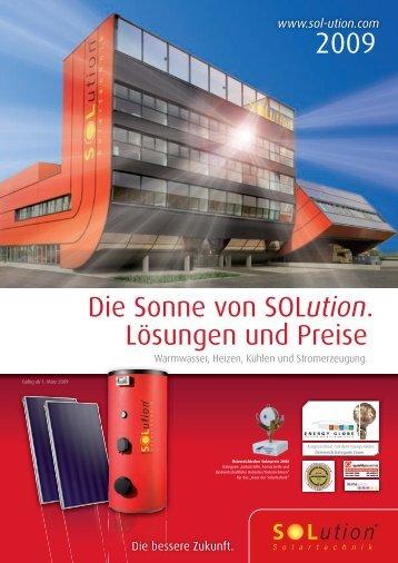 084329 Gemmato_SOLution.indd - Solution Solartechnik GmbH