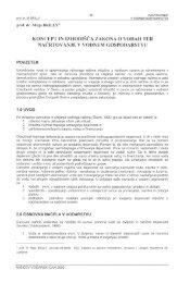 koncept in izhodišča zakona o vodah ter načrtovanje v vodnem ...