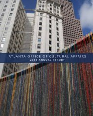 2013 marked - Atlanta Office of Cultural Affairs