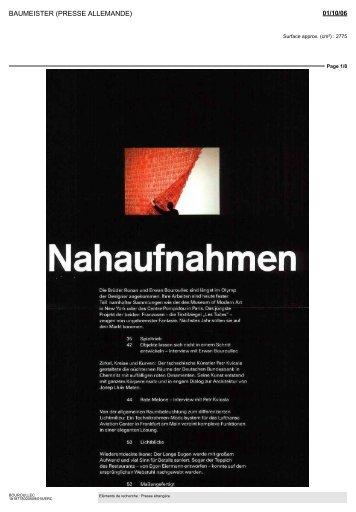 Nahaufnahmen - Ronan et Erwan Bouroullec