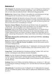 Essen von A – Z Alte Synagoge: Die ehemalige ... - Wir sind Kirche