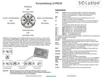 Folie 1 - Solution Solartechnik GmbH