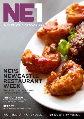 NE1'S NEWCASTLE RESTAURANT WEEK - Get Into Newcastle