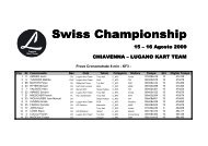 Swiss Championship Swiss Championship - Karting.ch
