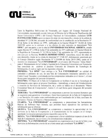 Miércoles, 30 de Abril de 2008 - Universidad Nacional Abierta