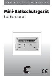 Mini-Kalkschutzgerät - Produktinfo.conrad.com