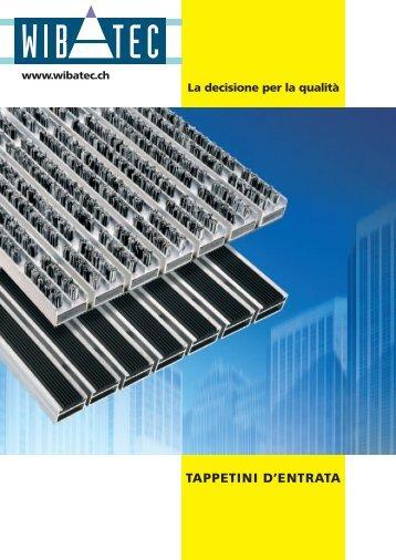 TAPPETINI D'ENTRATA - Wibatec AG