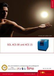 SOL ACS 08 und ACS 15 - Solution Solartechnik GmbH
