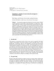 Quantitative evaluation of source detection strategies in ...