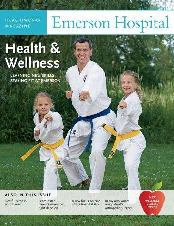 Health & Wellness - Emerson Hospital