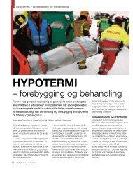Hypotermi – forebygging og behandling (PDF)