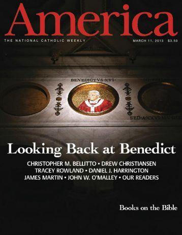 THE NATIONAL CATHOLIC WEEKLY MARCH 11, 2013 $3.50 - Jesuit